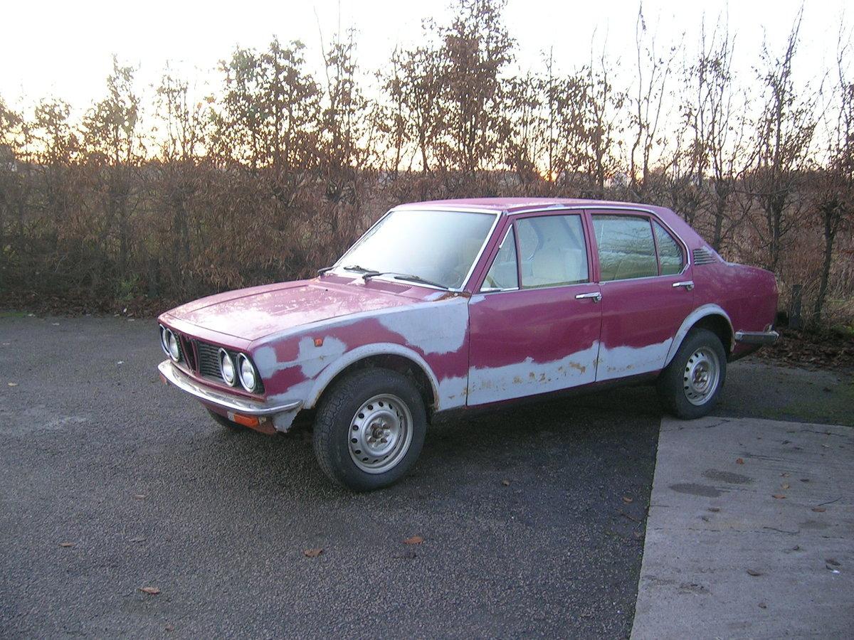 1977 Alfa Romeo Alfetta 1.8 Saloon For Sale (picture 1 of 6)
