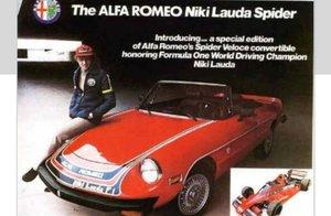 "ALFA. ROMEO "" NIKI LAUDA "" LTD EDITION 1978 LHD For Sale"