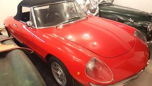 1969 Alfa Romeo Spider Duetto 1750 Veloce Restored Lhd