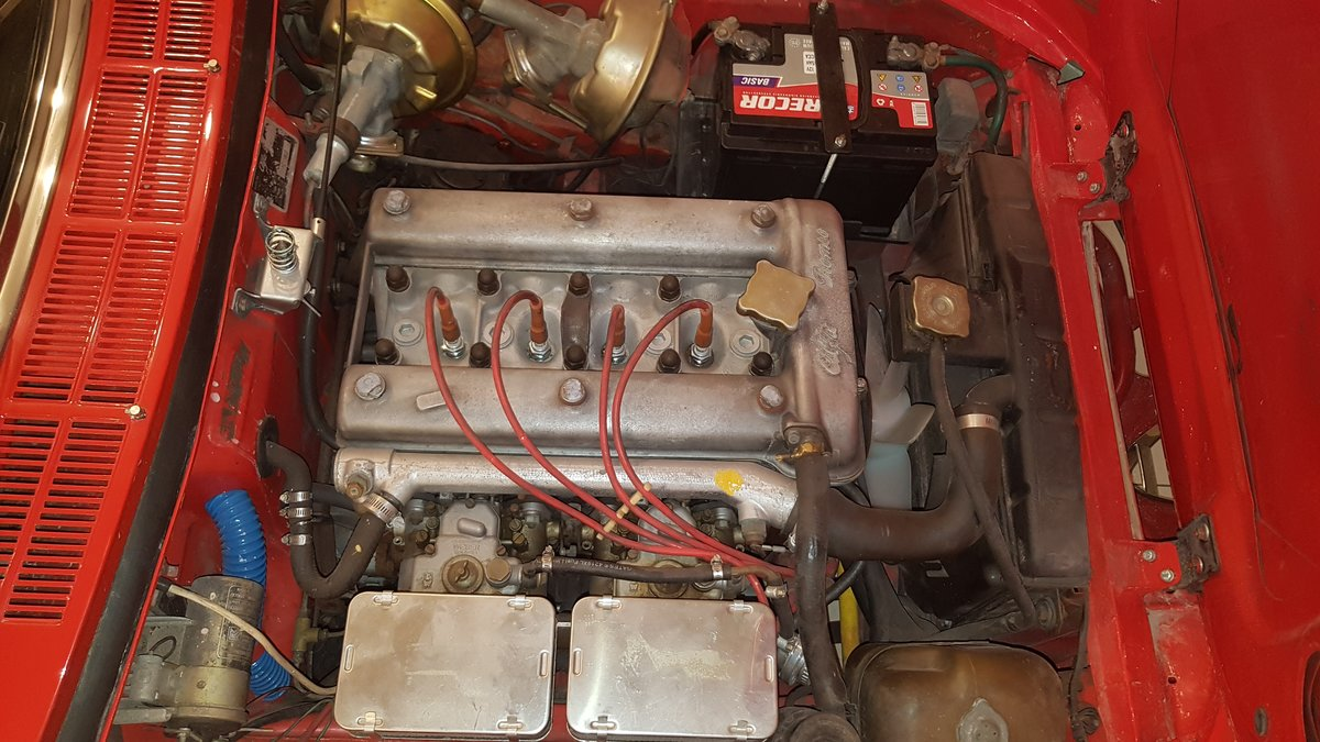 1969 Alfa Romeo Spider Duetto 1750 Veloce Restored Lhd SOLD (picture 6 of 6)
