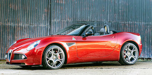 2013 Alfa Romeo 8C Spider For Sale by Auction
