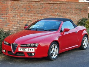 2007 ALFA ROMEO SPIDER 2.2 JTS + 1 OWNER + FSH + UK CAR +