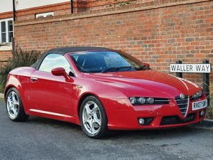 2007 ALFA ROMEO SPIDER 2.2 JTS - 1 OWNER - FSH - UK CAR - RARE -