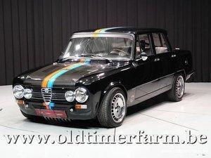 1968 Alfa Romeo Giulia Super 2000 Carbon '68 For Sale