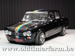 1968 Alfa Romeo Giulia Super 2000 Carbon '68