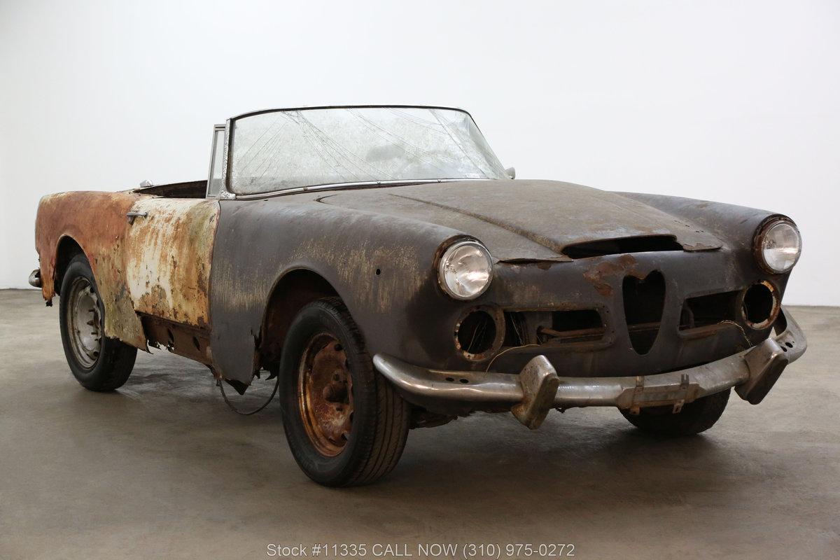 1962 Alfa Romeo 2600 Spider For Sale (picture 1 of 6)