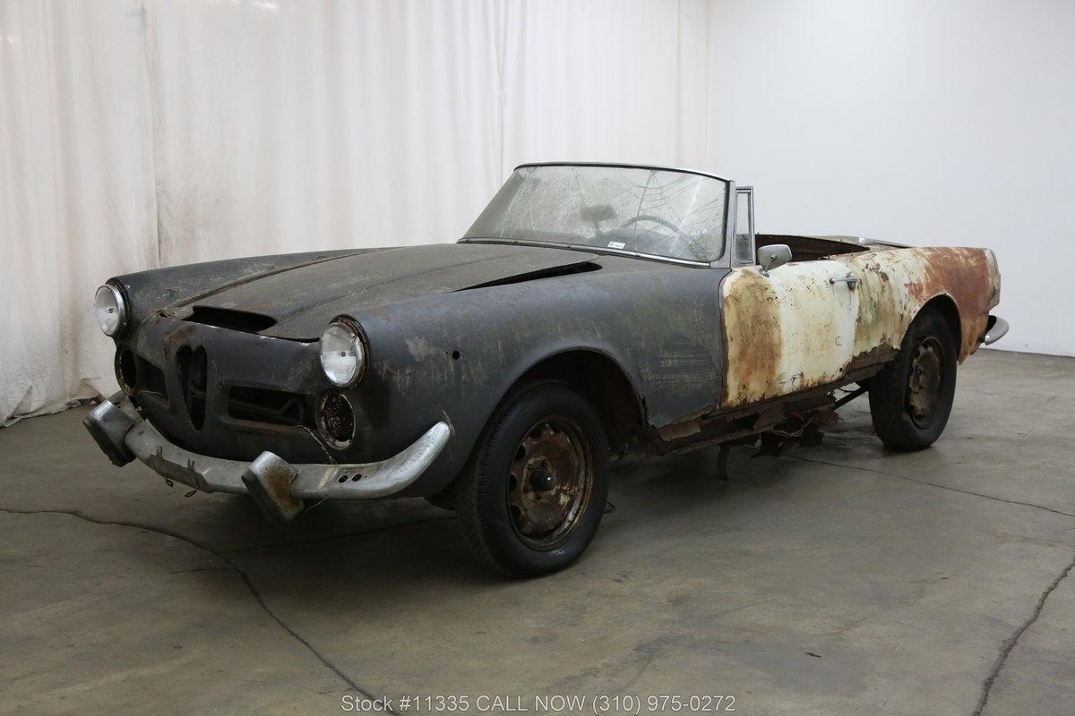1962 Alfa Romeo 2600 Spider For Sale (picture 3 of 6)