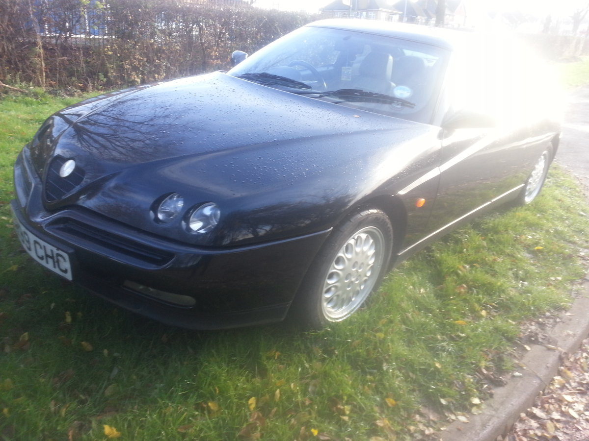 1998 ALFA GTV-2 LITRE-ONLY 58000 MILES-FULL HISTORY--NEW CAMBELT For Sale (picture 2 of 6)
