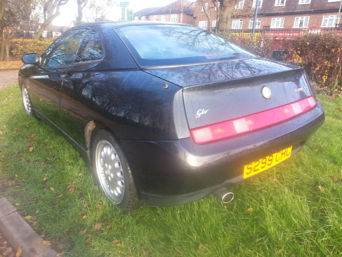 1998 ALFA GTV-2 LITRE-ONLY 58000 MILES-FULL HISTORY--NEW CAMBELT For Sale (picture 4 of 6)