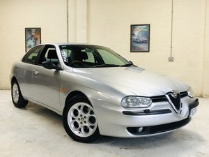 1998 ALFA 156 2.5 V6 - SAME OWNER LAST 17 YEARS, BEST AVAILA SOLD