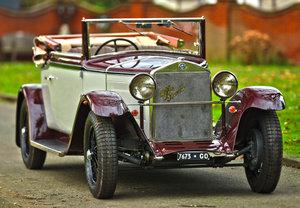 1934 Alfa Romeo 6C 1750 Turismo Cabriolet by Pinin Farina For Sale