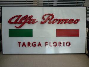 Alfa Romeo Targa Florio 3D Sign For Sale