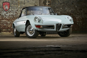 1966 Alfa Romeo 1600 spider   For Sale