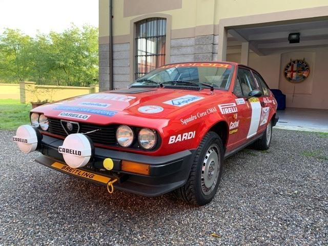 1981 Alfa Romeo Alfetta GTV6 for Sale For Sale (picture 2 of 6)