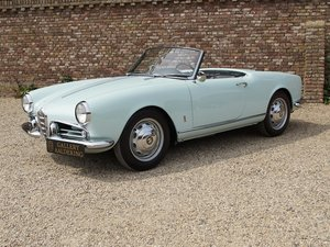 Picture of 1959 Alfa Romeo Giulietta 1300 Spider Veloce 750 F fully restored For Sale