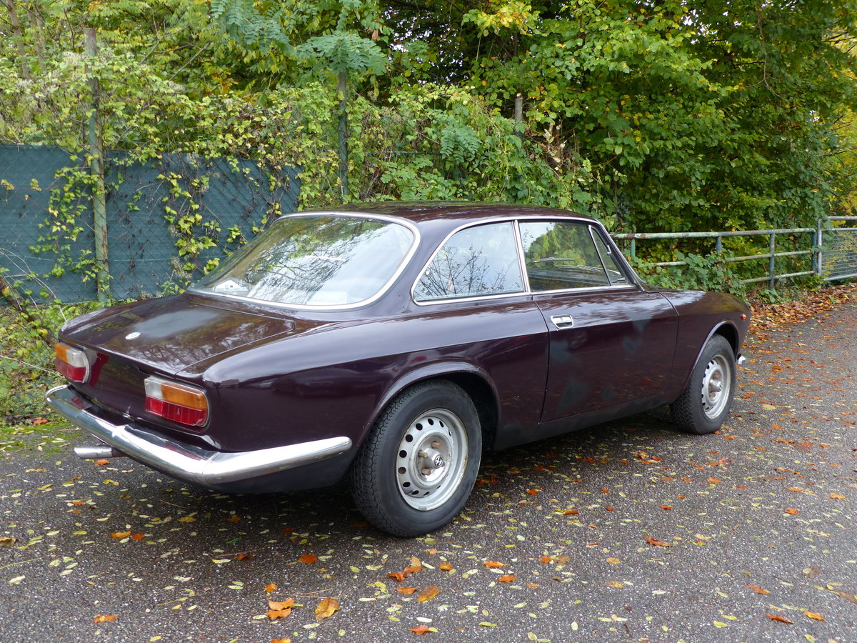 1972 top original Alfa Bertone GTV 2000, two owners For Sale (picture 2 of 6)