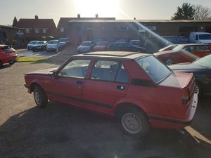 1986 Alfa Romeo Giulietta (116) Barn Find Just 12k Miles!  For Sale by Auction