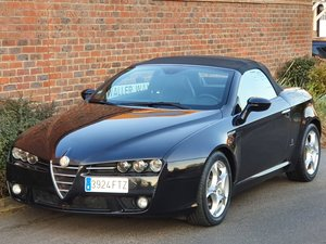 2007 LHD LEFT HAND DRIVE + ALFA ROMEO SPIDER 2.2 JTS + 42K + COC  For Sale