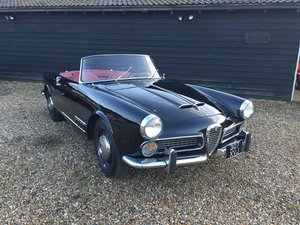 1960 Alfa Romeo 2000 Touring Spider For Sale