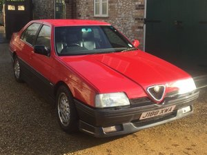 Picture of 1991 Alfa Romeo 164 3.0 V6 Cloverleaf at ACA 25th January  SOLD