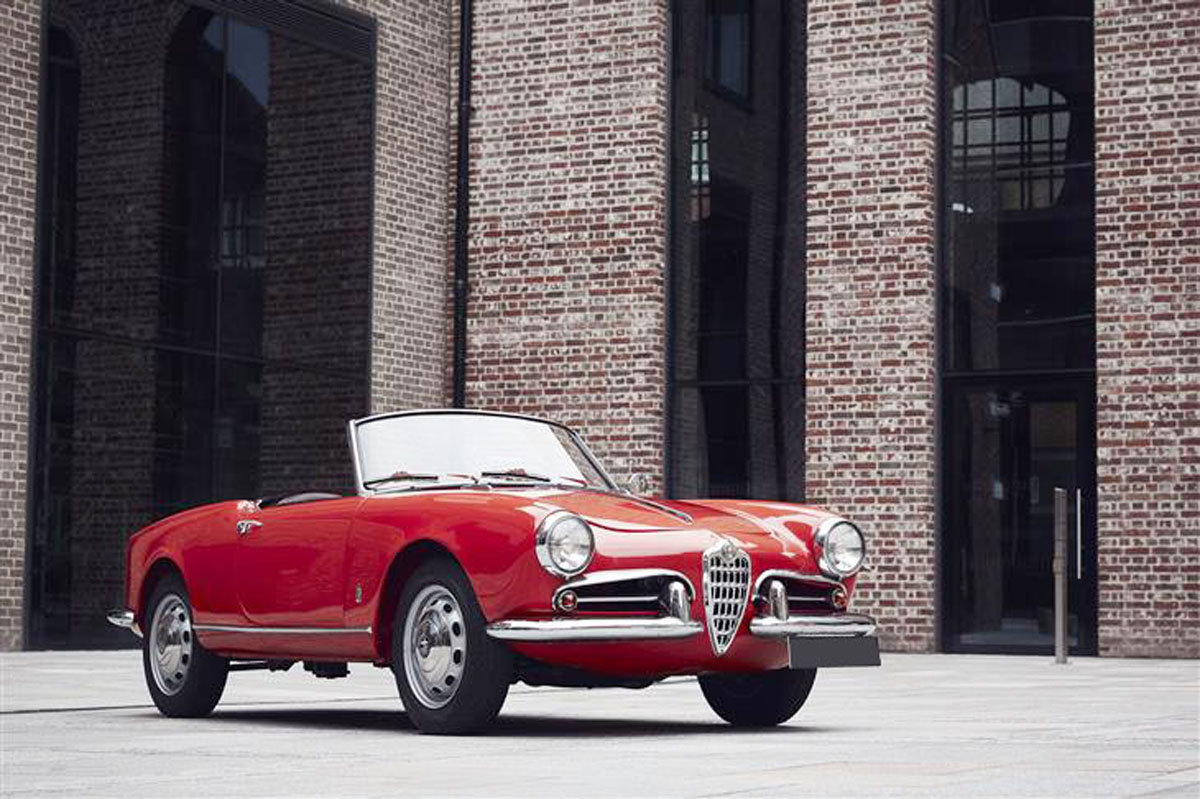 1957 Alfa Romeo Giulietta Spider 17 Jan 2020 For Sale by Auction (picture 1 of 6)