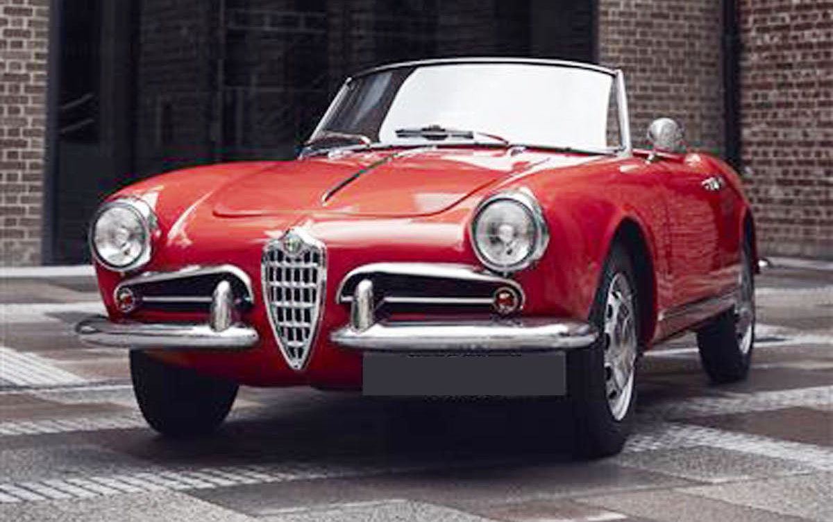1957 Alfa Romeo Giulietta Spider 17 Jan 2020 For Sale by Auction (picture 6 of 6)