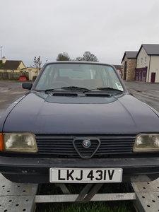 1983 Alfasud 1.5 super     (bargain)£1400