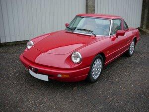 1992 Alfa Romeo Spider S4 2 litre SOLD