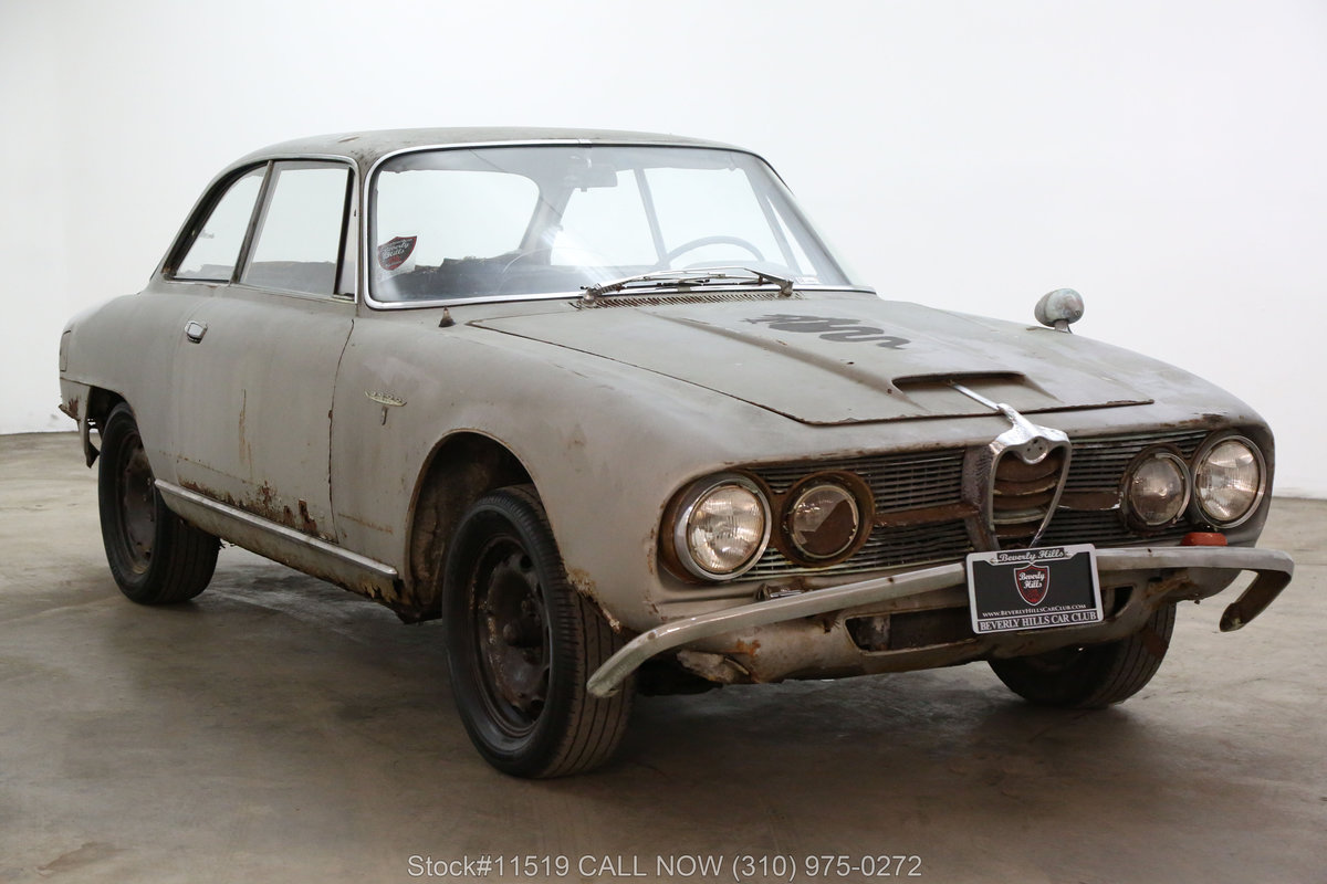 1963 Alfa Romeo 2600 Sprint For Sale (picture 1 of 6)