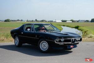 1972 Alfa Romeo Montreal - Nero Daytona, red interior!