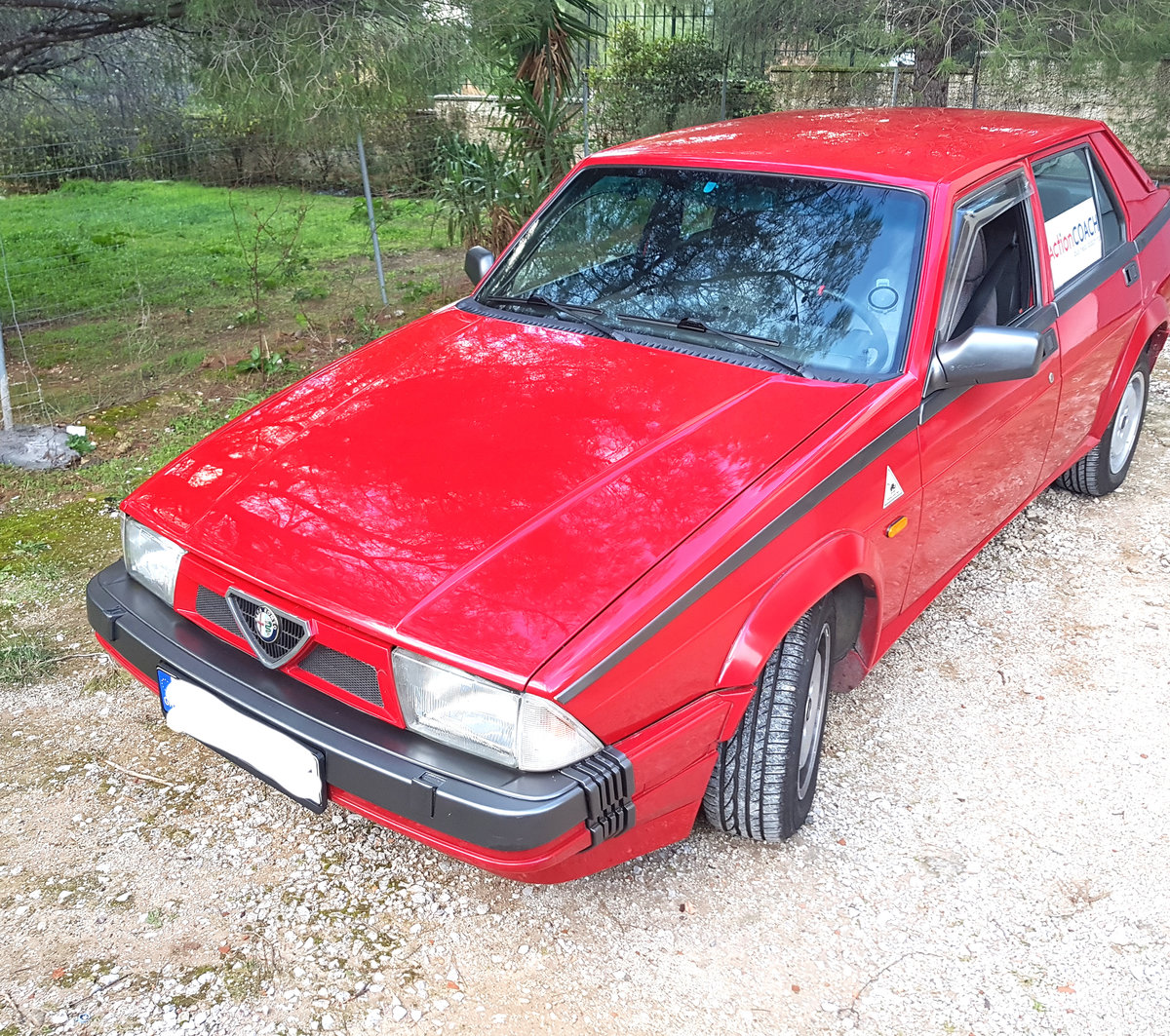 1988 Alfa Romeo 75 turbo America For Sale (picture 1 of 6)