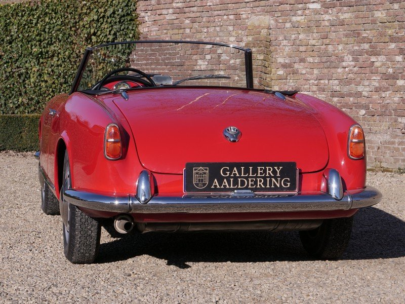 1957 Alfa Romeo Giulietta 1300 Spider 750D first series, restored For Sale (picture 6 of 6)