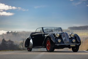 1938 Alfa Romeo 6C 2300 B Lungo cabriolet Worblaufen For Sale by Auction