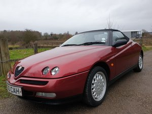 1996 Alfa Romeo Spider T Spark 16v at ACA 25th January