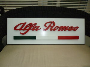 Alfa Romeo 3D Sign For Sale