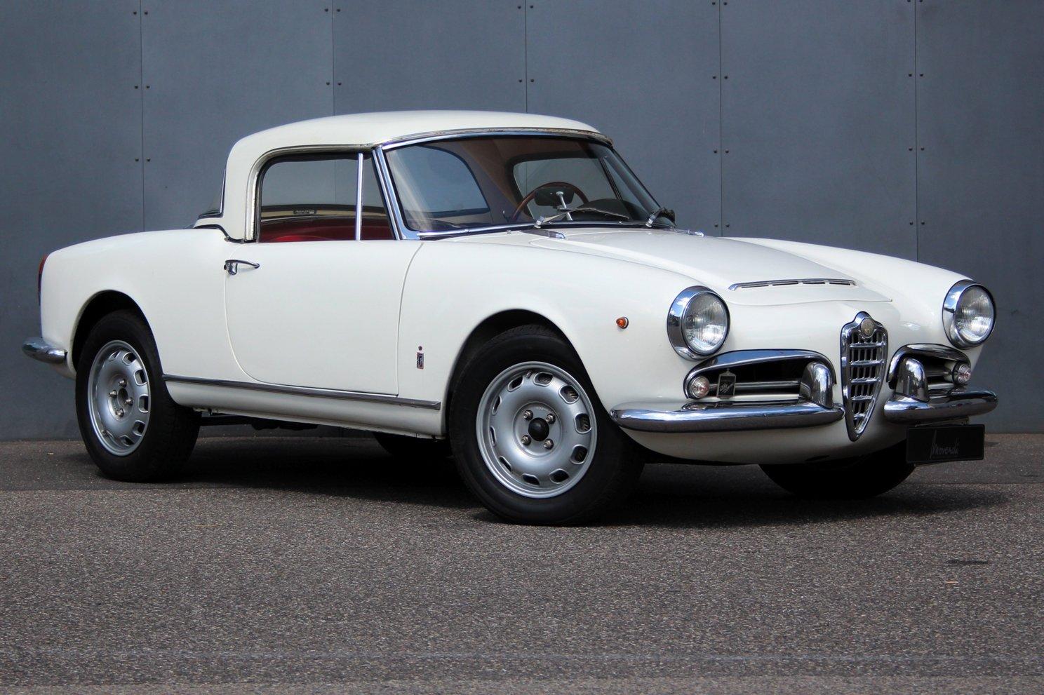 1963 Alfa Romeo Giulia Spider LHD For Sale (picture 1 of 6)
