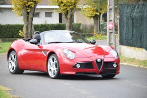 2009 Alfa Romeo  8C Spider For Sale by Auction