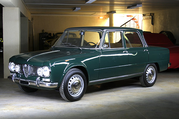 1965 Alfa Romeo Giulia Super Bollino d'oro LHD for sale SOLD (picture 1 of 6)