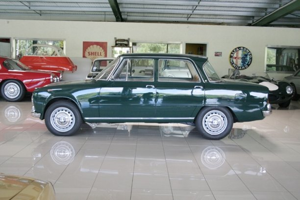 1965 Alfa Romeo Giulia Super Bollino d'oro LHD for sale SOLD (picture 2 of 6)