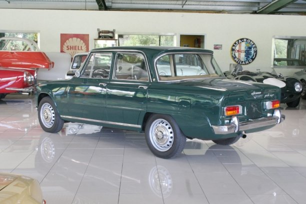1965 Alfa Romeo Giulia Super Bollino d'oro LHD for sale SOLD (picture 3 of 6)