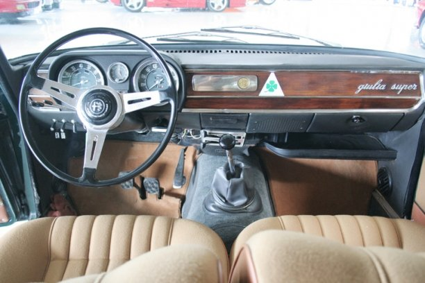 1965 Alfa Romeo Giulia Super Bollino d'oro LHD for sale SOLD (picture 5 of 6)