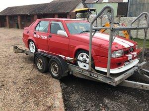 1989 Alfa Romeo 75 3.0 V6 Race Car (Barn find)