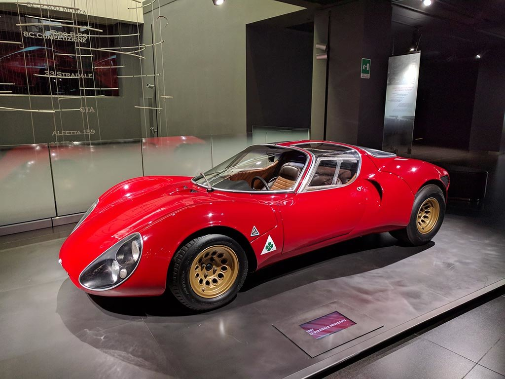1967 Alfa romeo 33 stradale continuation For Sale (picture 6 of 6)
