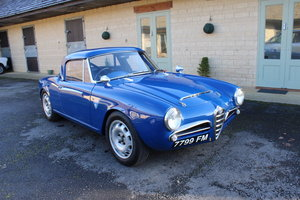 1964 ALFA ROMEO GIULIA SPIDER (FAST ROAD SPEC) – £75,950 For Sale