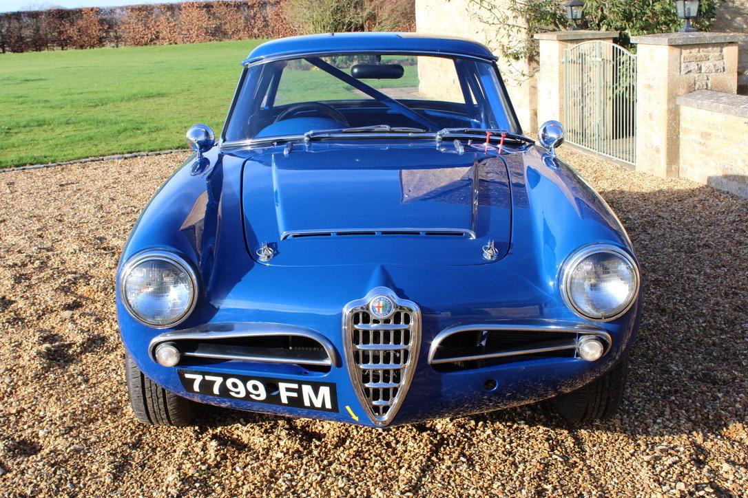 1964 ALFA ROMEO GIULIA SPIDER (FAST ROAD SPEC)  For Sale (picture 4 of 20)
