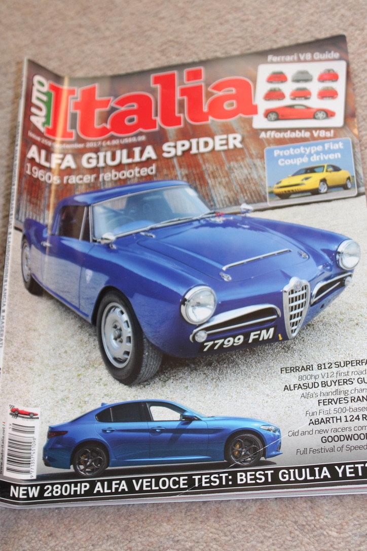 1964 ALFA ROMEO GIULIA SPIDER (FAST ROAD SPEC)  For Sale (picture 19 of 20)