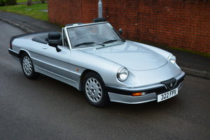 1986 Alfa Romeo Spider S3 For Sale by Auction