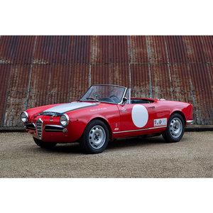 1963 Alfa Romeo Giulia Spider For Sale