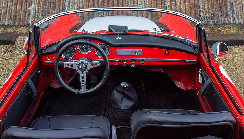 1963 Alfa Romeo Giulia Spider For Sale (picture 5 of 6)