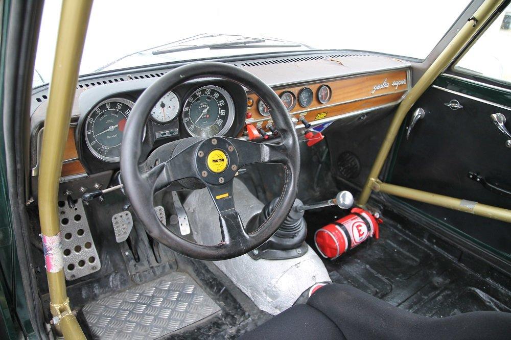 1967 Alfa Romeo Giulia Super Bollino Oro / Road and Race legal For Sale (picture 6 of 6)